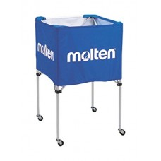 Vežimėlis kamuoliams Molten BK0012-B 64x64x50 cm mėlyna